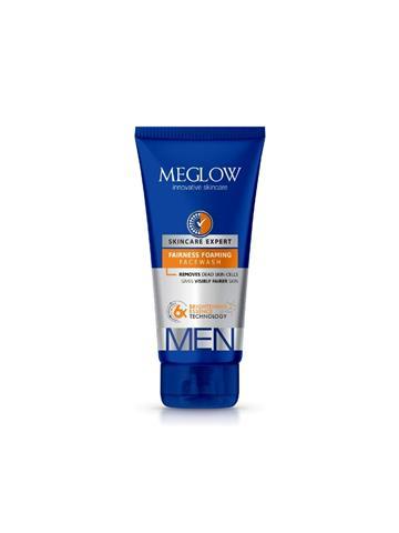 Leefords Meglow Face wash for men Removes dead skin cells gives visibly fairer skin 70g
