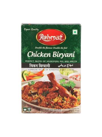 Rehmat Chicken Biryani Masala (60g) Export Quality