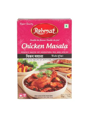Rehmat Chicken Masala Export Quality 50g