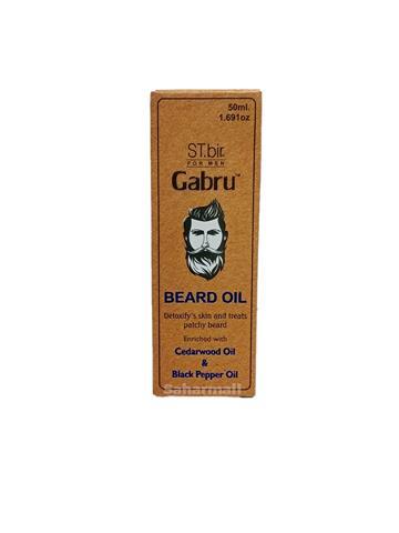 ST. bir Gabru Beard Oil Cedarwood Oil & Black Pepper Oil 50ml