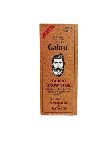 ST.bir for men  Gabru Beard Growth Oil  Geranium Oil and Tea Tree oil 100ml