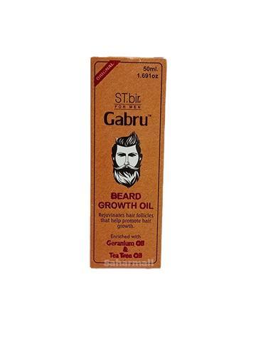ST. bir Gabru Beard Growth Oil Geranium Oil & Tea Tree Oil 50ml