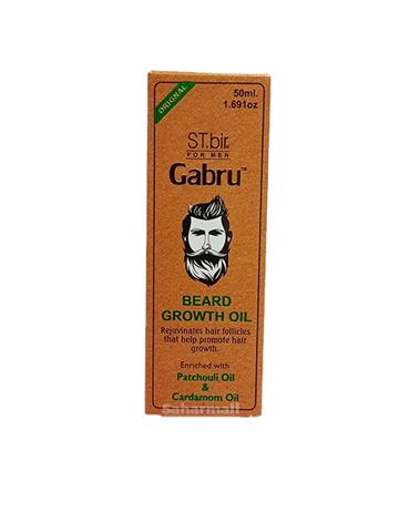 ST. bir Gabru Beard Growth Oil Patchouli Oil & Cardamom Oil 50ml