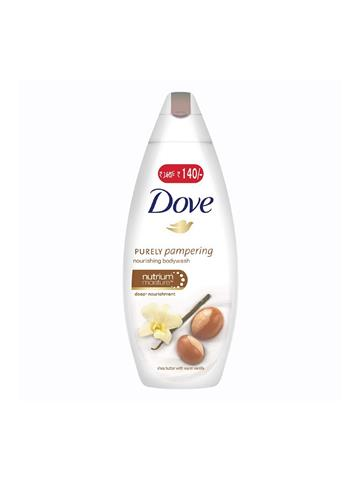 Dove Shea Butter and Warm Vanilla Body Wash 190 ml