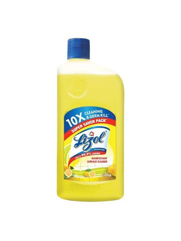 Lizol Disinfectant Floor Cleaner, Citrus 975ml