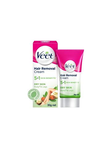 Veet Hair Removal Cream Dry Skin Body and Legs 30g