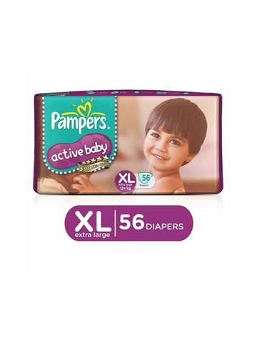 Pampers Active Baby Extra large 56 Pants