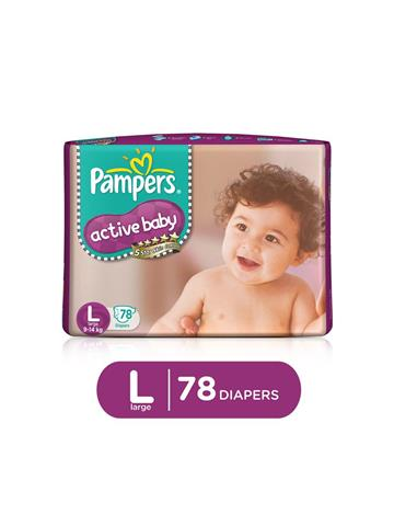 Pampers Active Baby Large 78 Pants