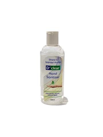 D'Clear Hand Sanitizer 100ml