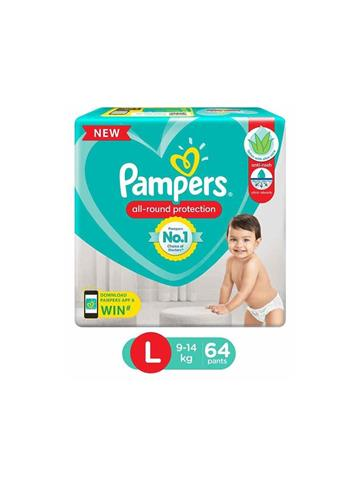 Pampers All round Protection L 64 Pants