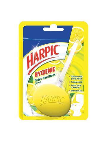 Harpic Hygienic Toilet Rim Block Citrus (26g)