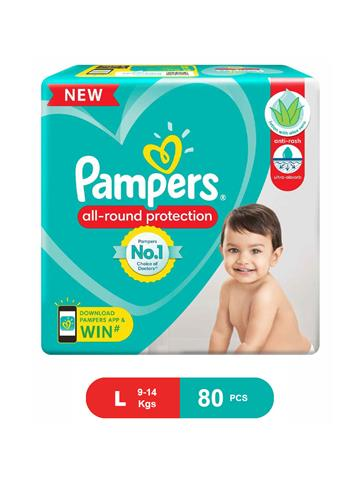 Pampers All Round Protection 80 Pants L