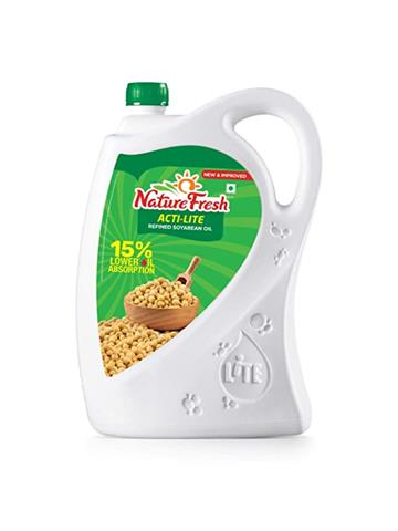 Nature Fresh Acti-Lite Refined Soyabean Oil 5kg