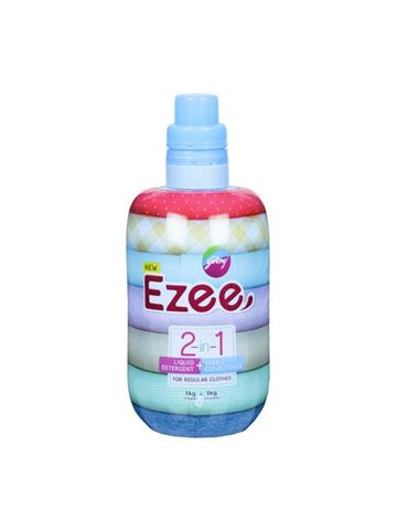 Godrej Ezee 2 in 1 Liquid Detergent+ Fabric Conditioner (1kg)
