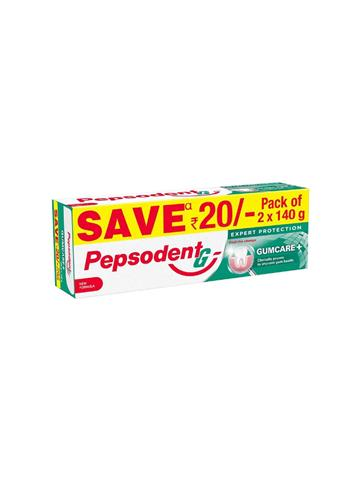 Pepsodent Expert Protection Gumcare+ Pack of 2*140g