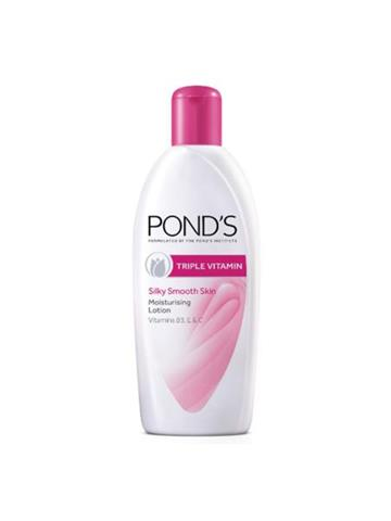 Ponds Triple Vitamin Silky Smooth Skin Moisturising Lotion (300ml)