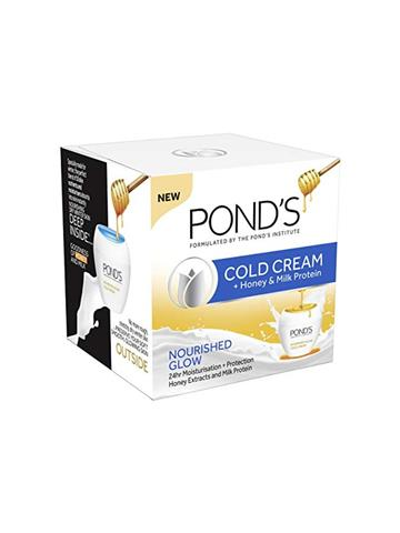 Ponds Cold Cream+Honey & Milk Protein Nourished Glow 55ml/49g