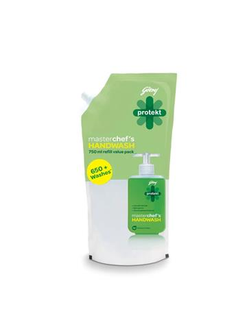 Godrej protekt master Chef's Handwash  Green (750ml)