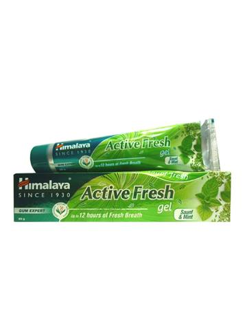 Himalaya Active Fresh Gel Toothpaste with Saunf & Mint Gum Expert (80g)