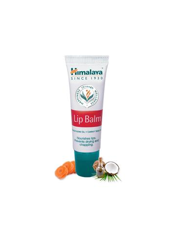 Himalaya Lip Balm with Wheat germ Oil & Carrot Seed Oil (10g)