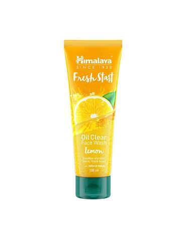 Himalaya Fresh Start Oil Clear Facewash Lemon with natural natural beads (100ml)