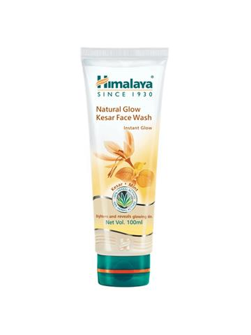 Himalaya Natural Glow Kesar Facewash Instant Glow reveals Glowing Skin with kesar & Mint (100ml)