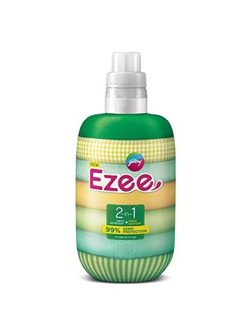 Godrej Ezee 2 in 1 liquid detergent fabric sanitizer Germ Protection for regular clothes (1kg)