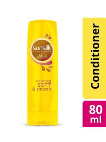 Sunsilk Nourishing Soft & Smooth Conditioner (80ml)