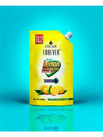 Oscar Forever Lemon Handwash (Buy 1 get 1 free) 500ml