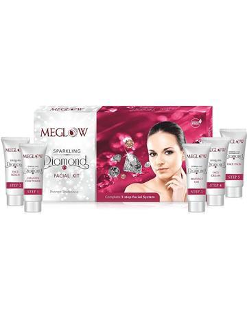 Meglow Sparkling Diamond Facial Kit (105g)