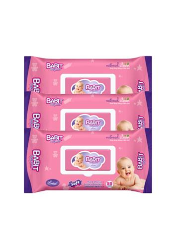 Babit Baby Care Wipes (80 Wipes)
