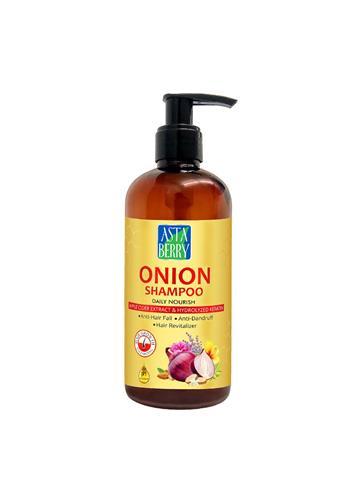 Asta Berry Onion Daily Nourish Shampoo  (300ML)