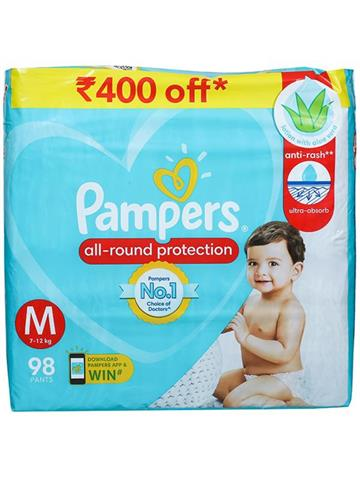 Pampers All Round Protection (M)Size 98 Pants
