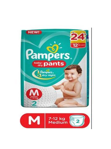 Pampers Happy Skin Pants Medium Size 2 Pants
