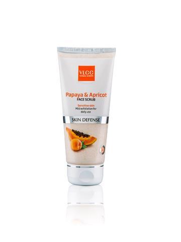 VLCC Papaya & Apricot Face Scrub (80G)