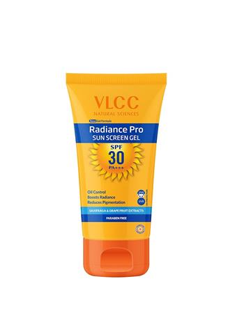 VLCC Radiance Pro Sun Screen Gel SPF 30 Saxifraga & Grape Fruit Extracts (100G)