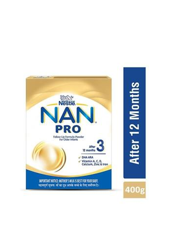Nestle Nan Pro 3 After 12 Months (400G)