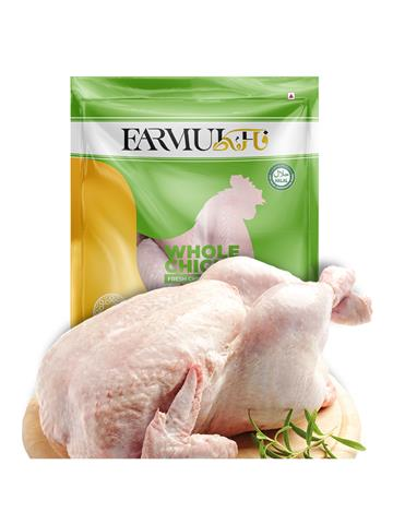 Farmukh fresh Chicken With Skin 1kg