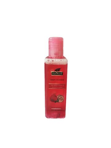 Pure Root Skin Toner 100ml with natural extracts of rose & cucumber