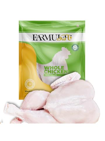 Farmukh fresh Chicken Without Skin 900 gm