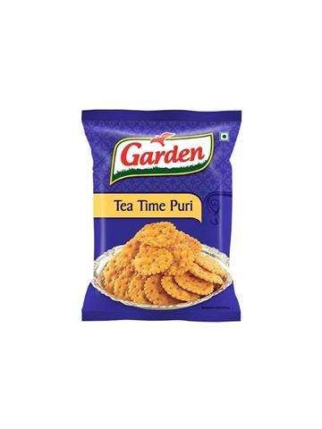 Garden Snacks - Tea Time Puri, 160 g Pouch