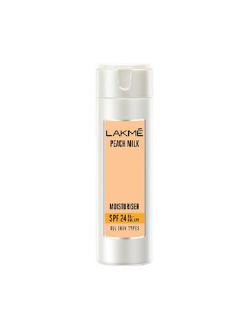 Lakme Peach Milk Moisturiser SPF 24 PA++ UVA, UVB 120ml