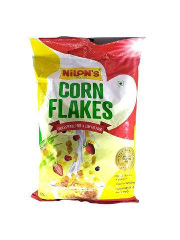 Nilon's Corn Flakes Cholestrol Free & Low Fat Food 200g