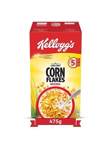 Kellogg's Corn Flakes Original (475g) Free Kellogg's Oats worth Rs.45