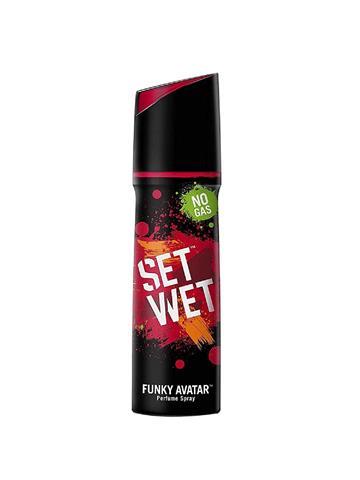 Set Wet Funky Avatar Perfume Spray 120ml