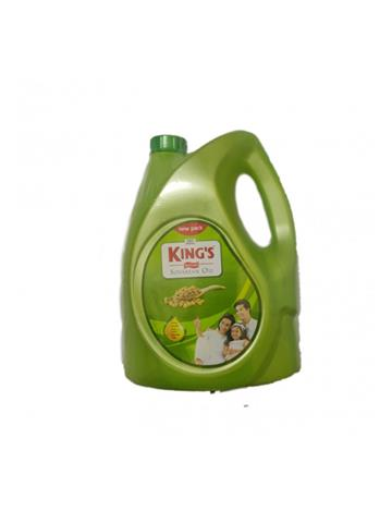 Kings Refined Soyabean Oil (5ltr)