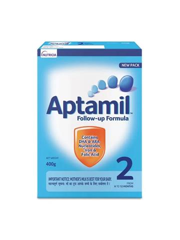Aptamil Follow- up  Formula  2 From 6 to 12 Months 400g