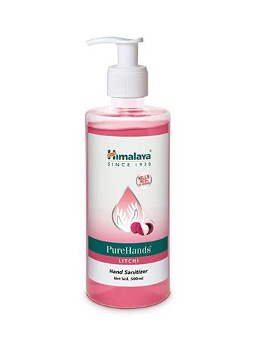 Himalaya Pure Hands Litchi  Hand Sanitizer 500ml