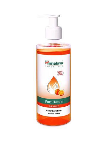 Himalaya Pure Hands Orange  Hand Sanitizer 500ml